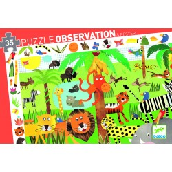 Puzzle observation La jungle