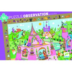 Puzzle observation Princesses