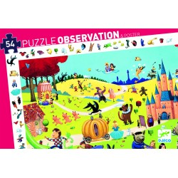 Puzzle observation Contes