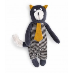 Miniature Chat gris Alphonse Moulin Roty