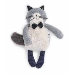 Miniature Chat gris clair Fernand Moulin Roty